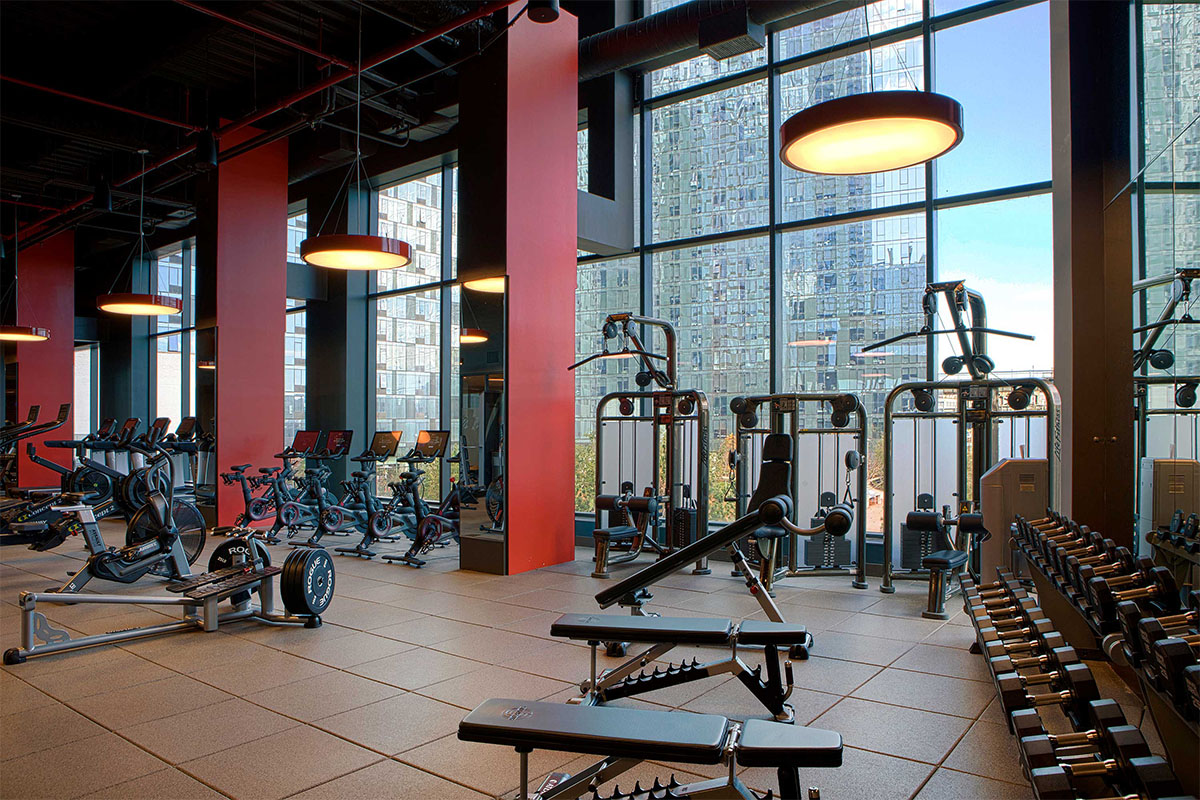 Gyms & Training Rooms